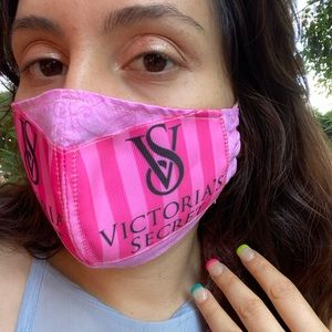 Cute Victoria's Secret Face Mask and Pouch